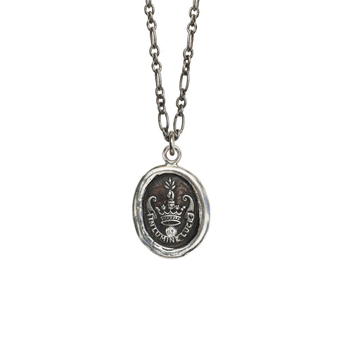 Inspiration with Diamond Talisman - Pyrrha