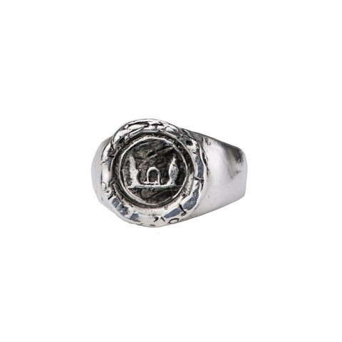 Luck & Protection Signet Ring - Pyrrha