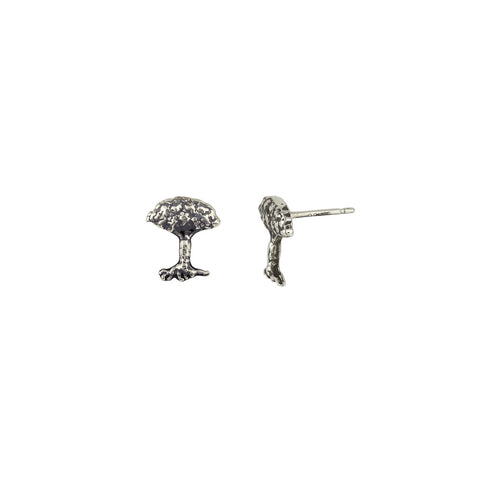 Tree Symbol Single Stud Earring - Pyrrha  - 1