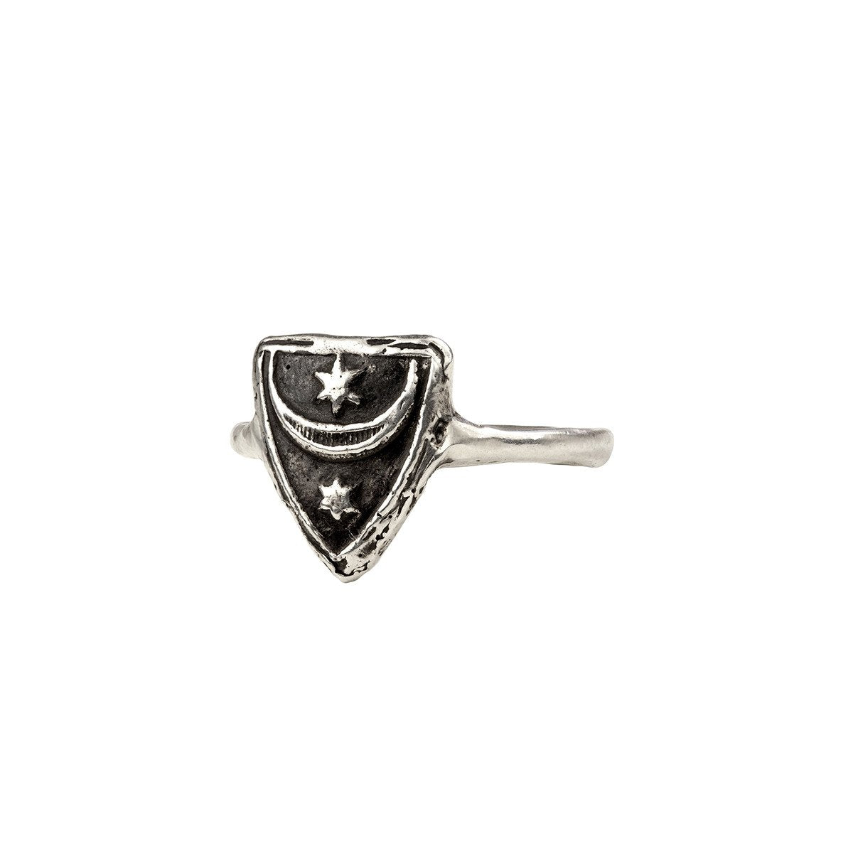 Truth & Enlightenment Mini Talisman Ring - Pyrrha  - 1