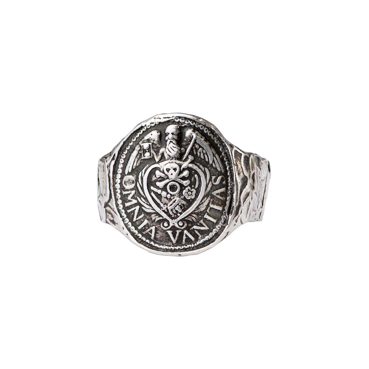 Vanity Narrow Formed Band Ring - Pyrrha