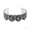 House Baratheon Shield Cuff - Pyrrha
