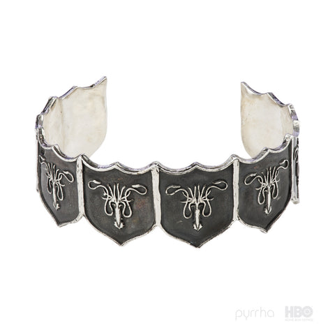 House Greyjoy Shield Cuff - Pyrrha
