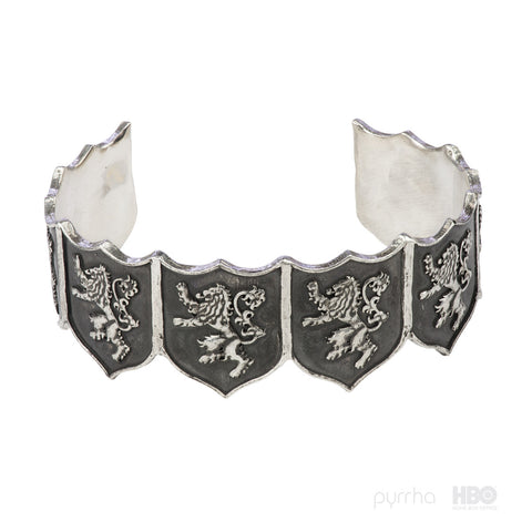 House Lannister Shield Cuff - Pyrrha
