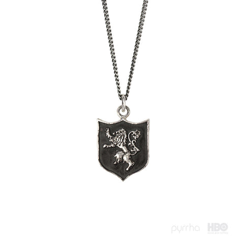 House Lannister Shield Talisman - Pyrrha
