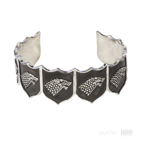 House Stark Shield Cuff - Pyrrha