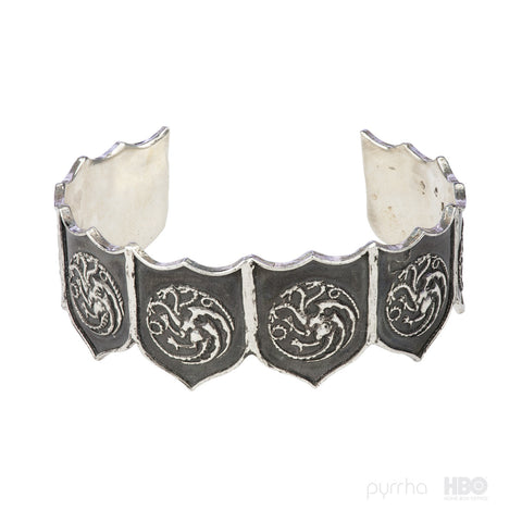 House Targaryen Shield Cuff - Pyrrha