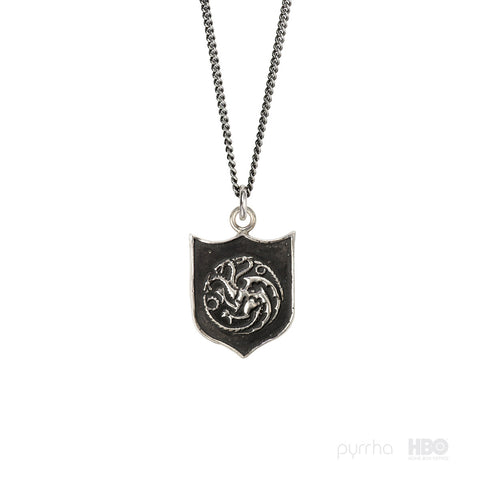 House Targaryen Shield Talisman - Pyrrha  - 1