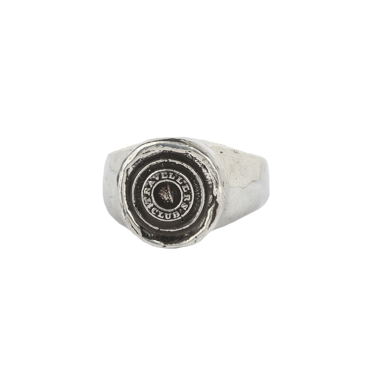 Safe Travels Signet Ring - Pyrrha