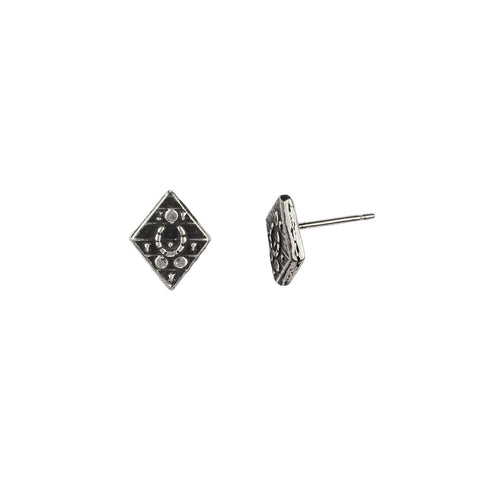 Safeguard Stud Earrings - Pyrrha  - 1