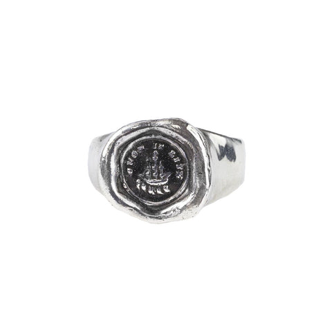 Such is Life Signet Ring - Pyrrha