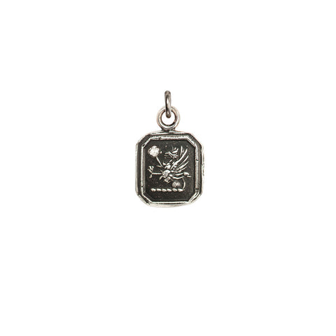 Success Diamond Set Talisman Charm - Pyrrha  - 1