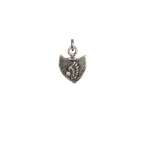 Taking Flight Diamond Set Talisman Charm - Pyrrha  - 1