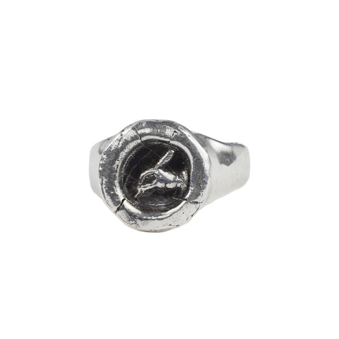 Writer Signet Ring - Pyrrha