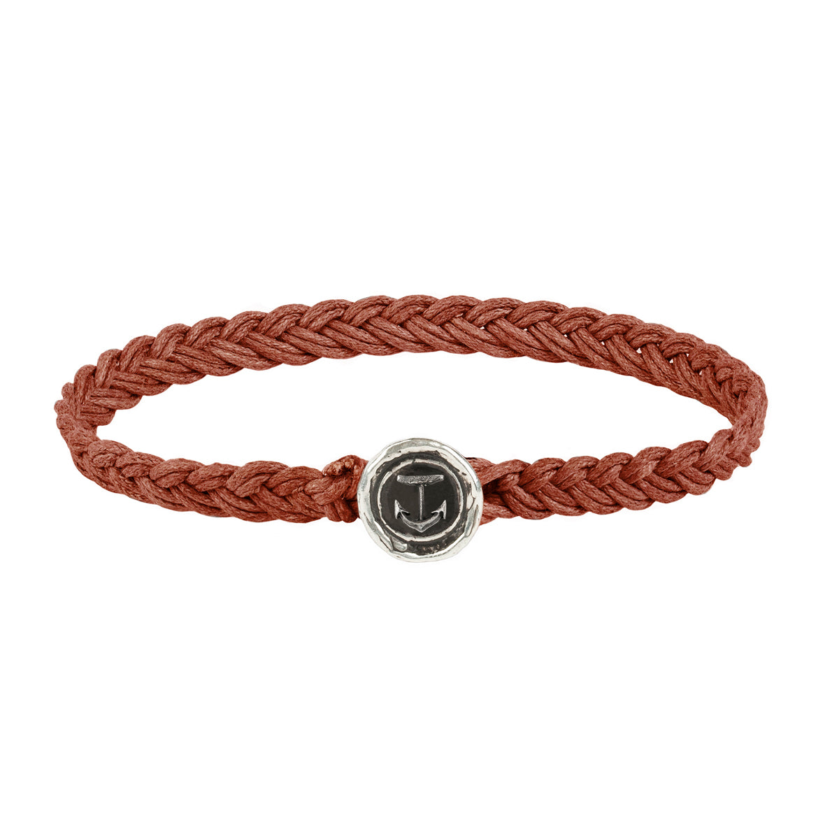 anchor symbol braided bracelet - pyrrha - 1