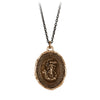 Pyrrha Aphrodite Goddess Talisman Necklace Bronze