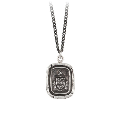 Pyrrha Be Yourself Talisman Necklace Silver