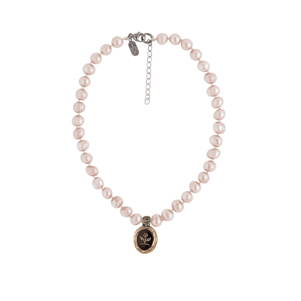 Beauty & Strength Knotted Freshwater Pearl Choker