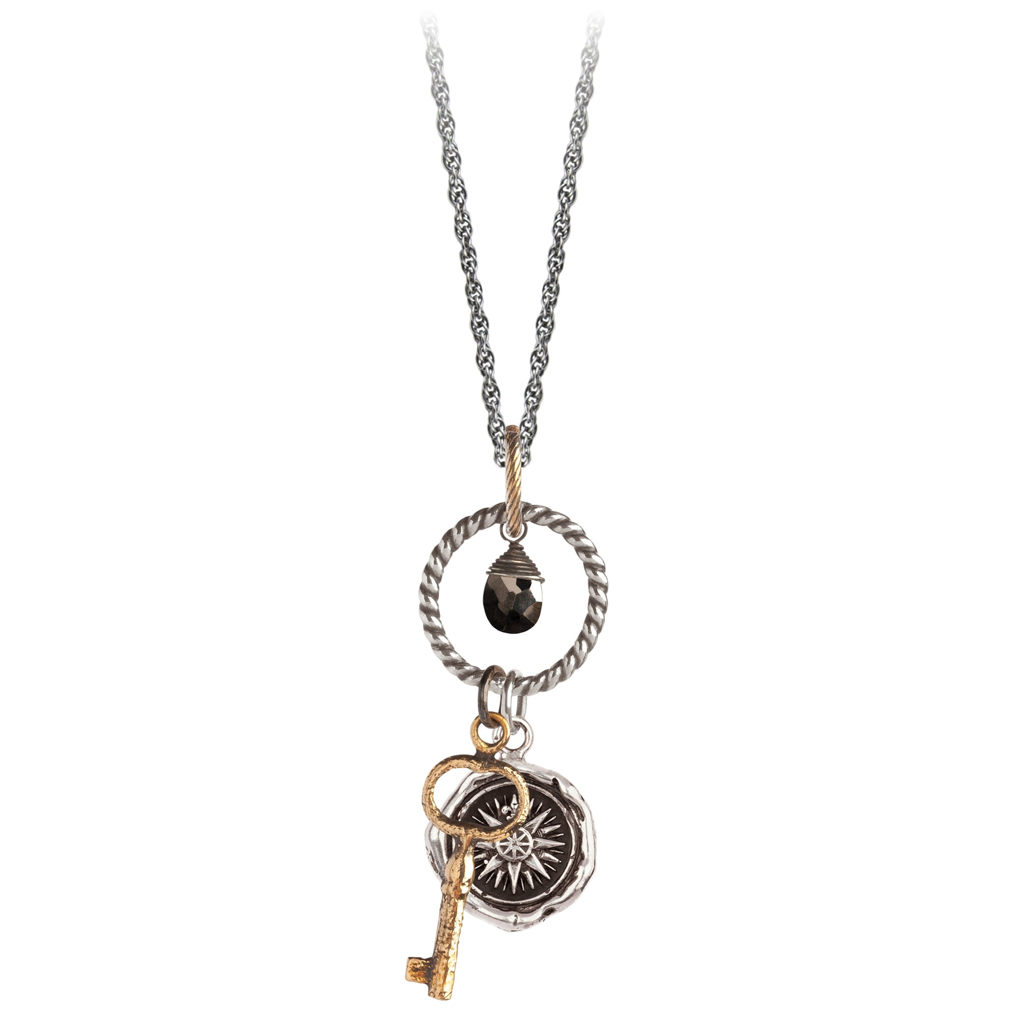 Pyrrha Direction Eternal Necklace