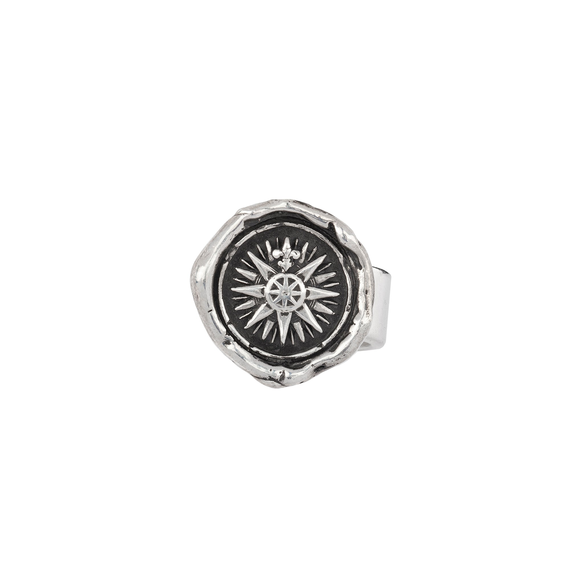 Pyrrha Direction Ring Silver
