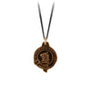 Pyrrha Eagle Honor Badge Talisman Necklace Bronze