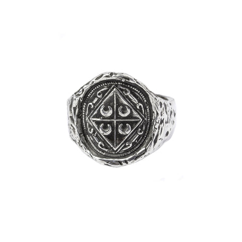 Embrace Change narrow formed band ring - Pyrrha - 1