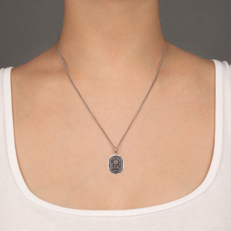 Pyrrha Everything For You Talisman Necklace Silver