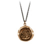 Pyrrha Faithful Talisman Necklace Bronze