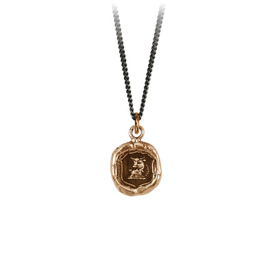 Pyrrha Fatherhood Talisman Necklace Bronze