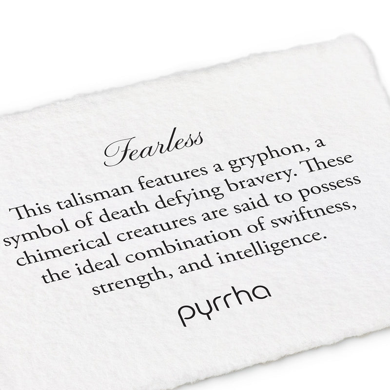 Fearless Narrow Formed Band Ring - Pyrrha