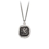 Pyrrha Fearless Talisman Necklace Silver