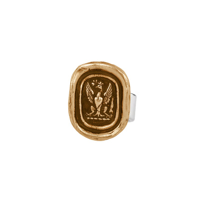 Pyrrha Follow your dreams Ring bronze