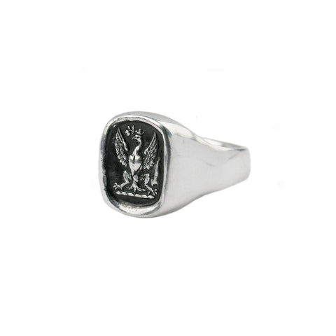 follow your dreams signet ring - pyrrha - 1