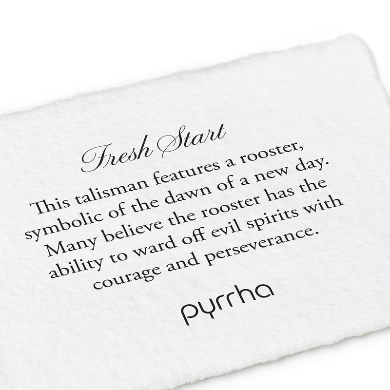 Pyrrha Fresh Start Talisman Necklace Silver