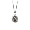 Pyrrha From God Talisman Necklace Silver