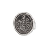 Pyrrha heart of the wolf Ring Silver