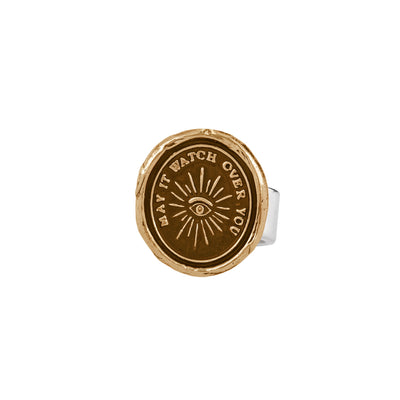 Pyrrha higher power Ring bronze