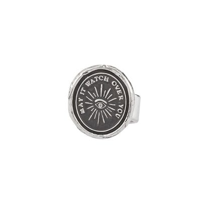 Pyrrha higher power Ring Silver
