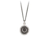 Pyrrha Horseshoe Talisman Necklace Silver