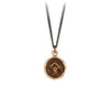 Pyrrha I See A Way Talisman Necklace Bronze
