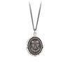 Pyrrha In Wine There Is Truth Talisman Necklace Silver