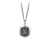 Pyrrha Inner Strength Talisman Necklace Silver