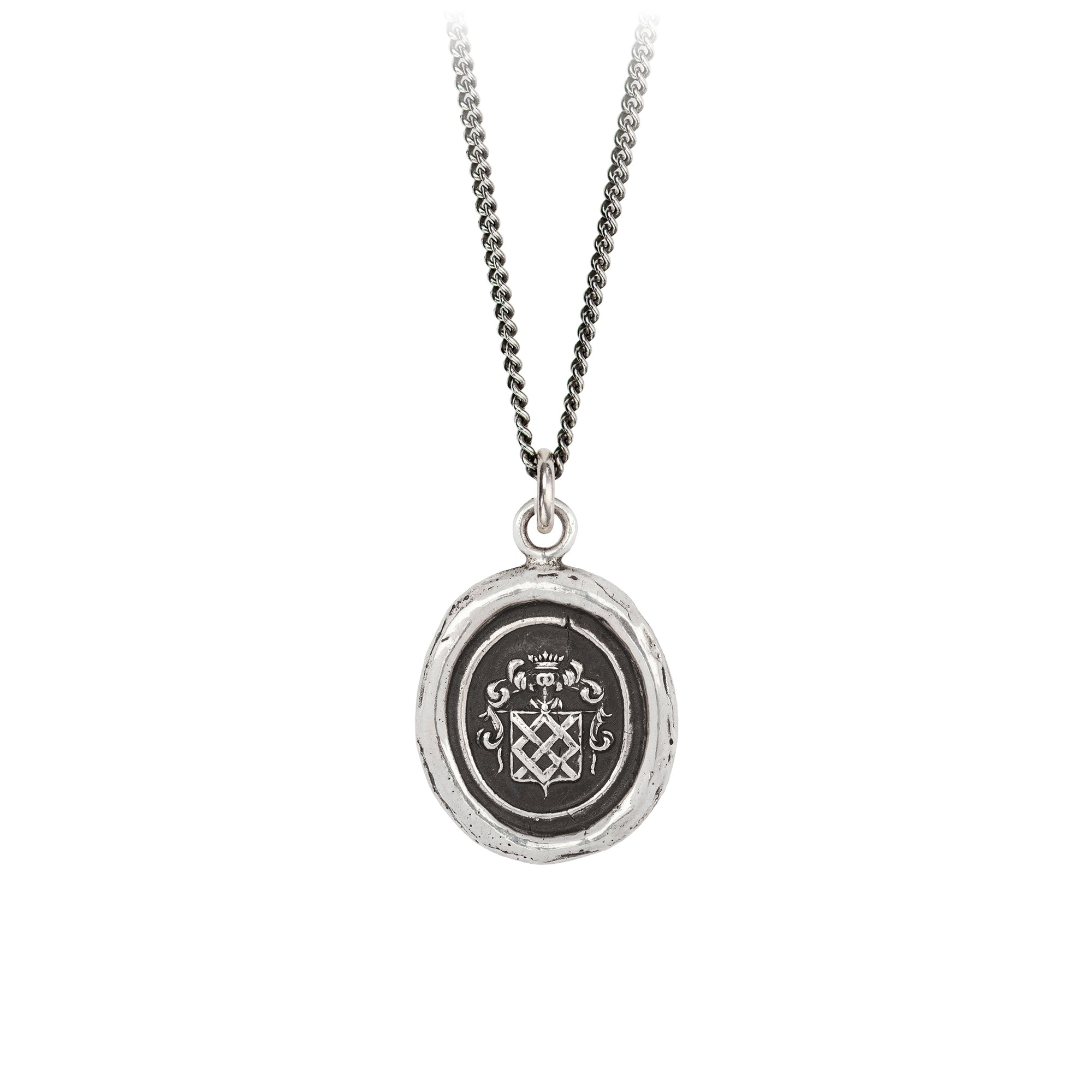 Pyrrha Inseparable Talisman Necklace Silver