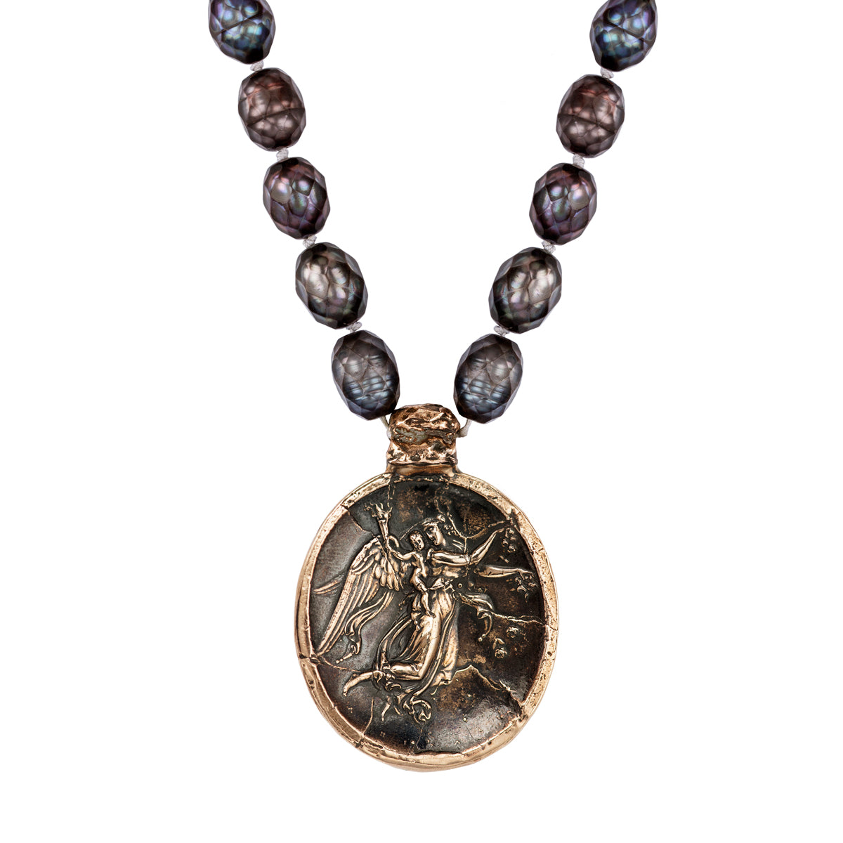 Morning Flight Of Eos Eros Intaglio Necklace Pyrrha