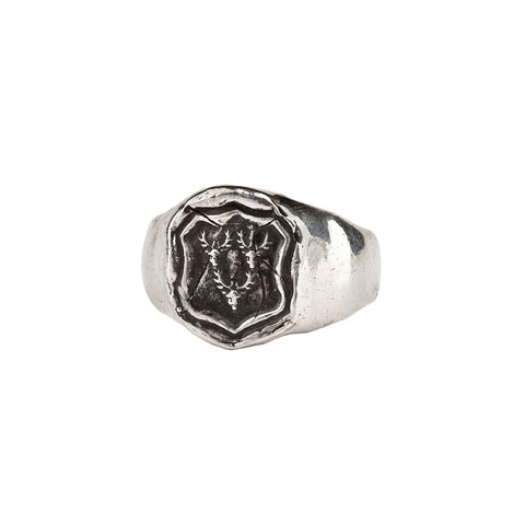 Intuition Signet Ring - Pyrrha  - 1
