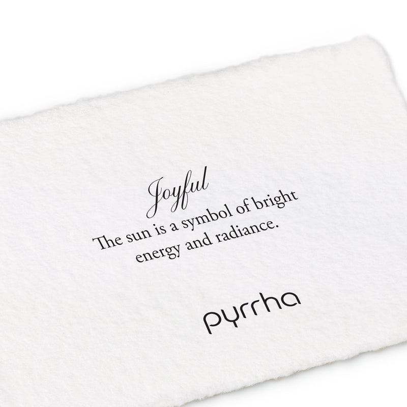 Pyrrha Joyful Appreciation Talisman Necklace Silver