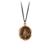 Pyrrha Knowing Talisman Necklace Bronze