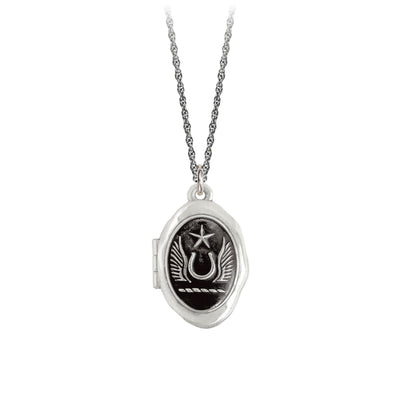 Pyrrha Large Luck and Protection Locket Necklace