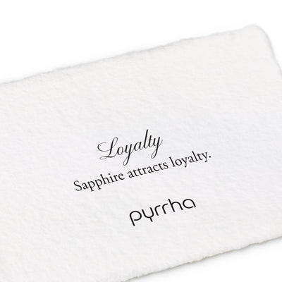 loyalty 14k capped attraction charm - pyrrha - 2