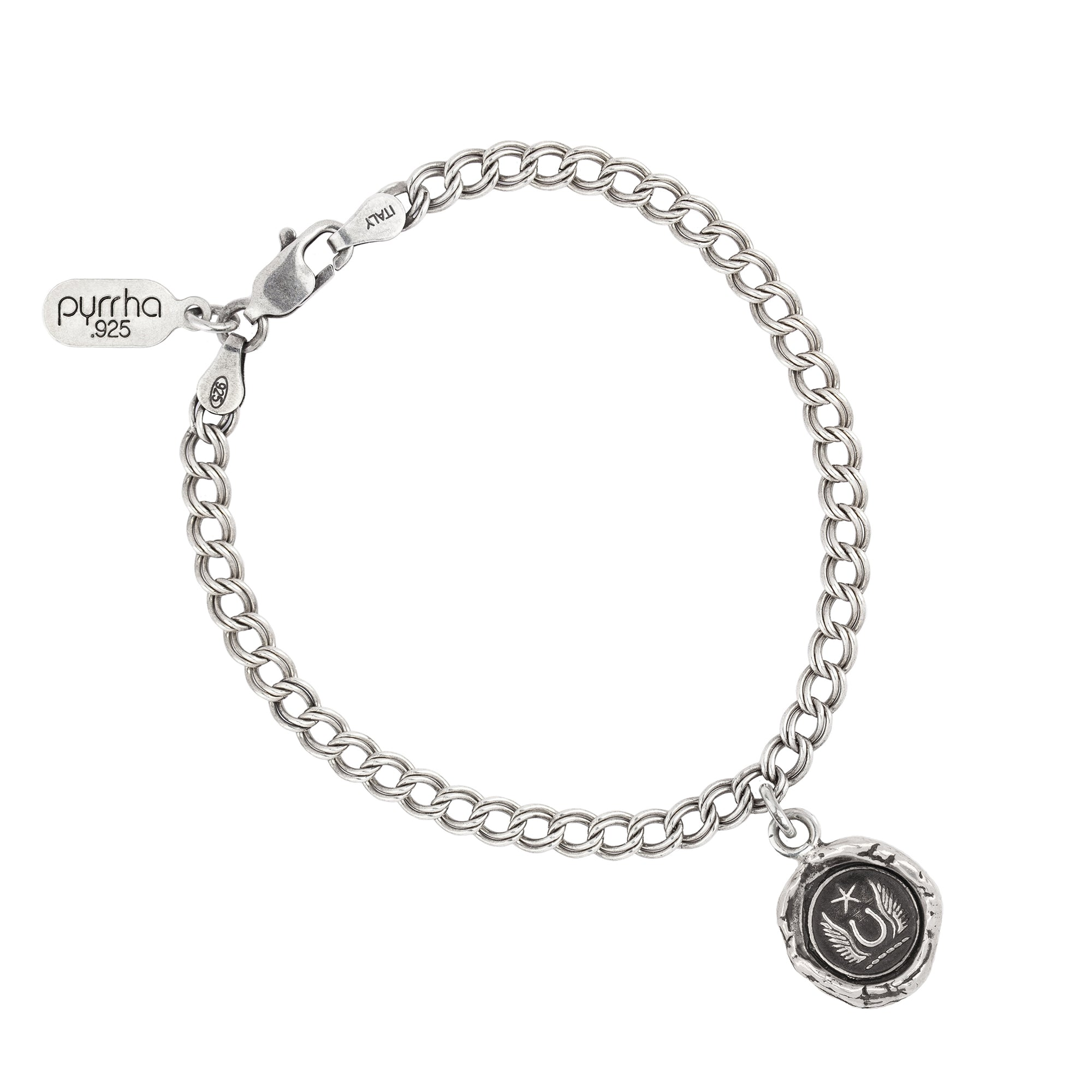 Pyrrha luck and protection talisman chain bracelet